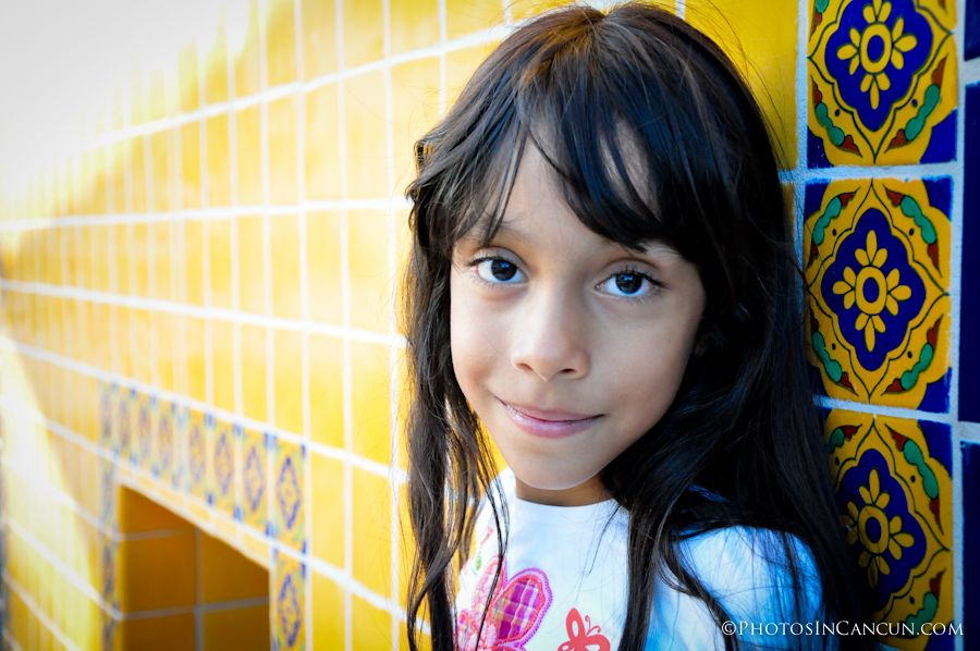 kid portrait in mexico