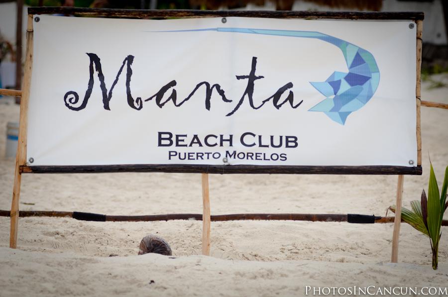 Manta Beach Club - Puerto Morelos - Mexico