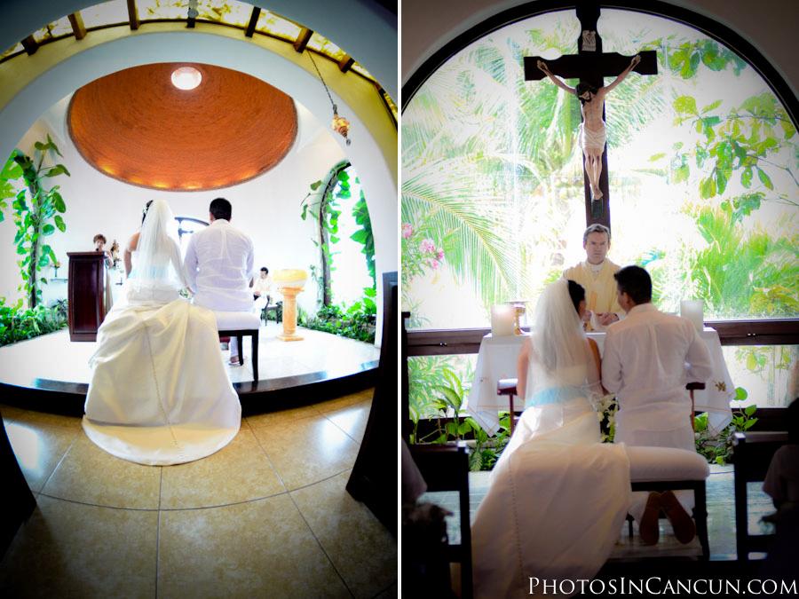 Wedding - Our Lady of Carmen Chapel - Playa Del Carmen