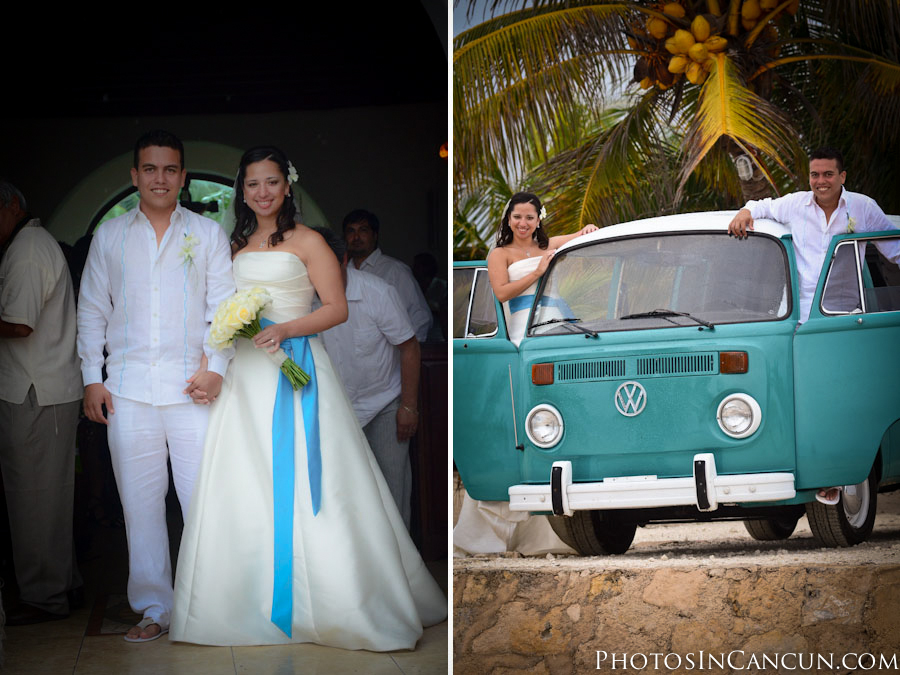 Wedding photography Puerto Morelos