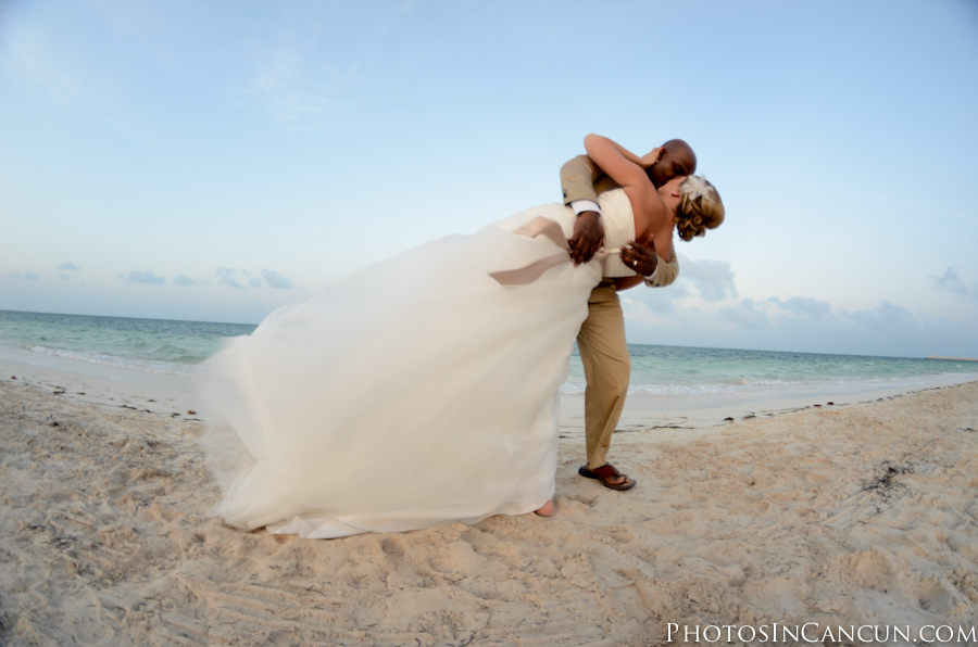 Excellence Playa Mujeres Wedding Photo
