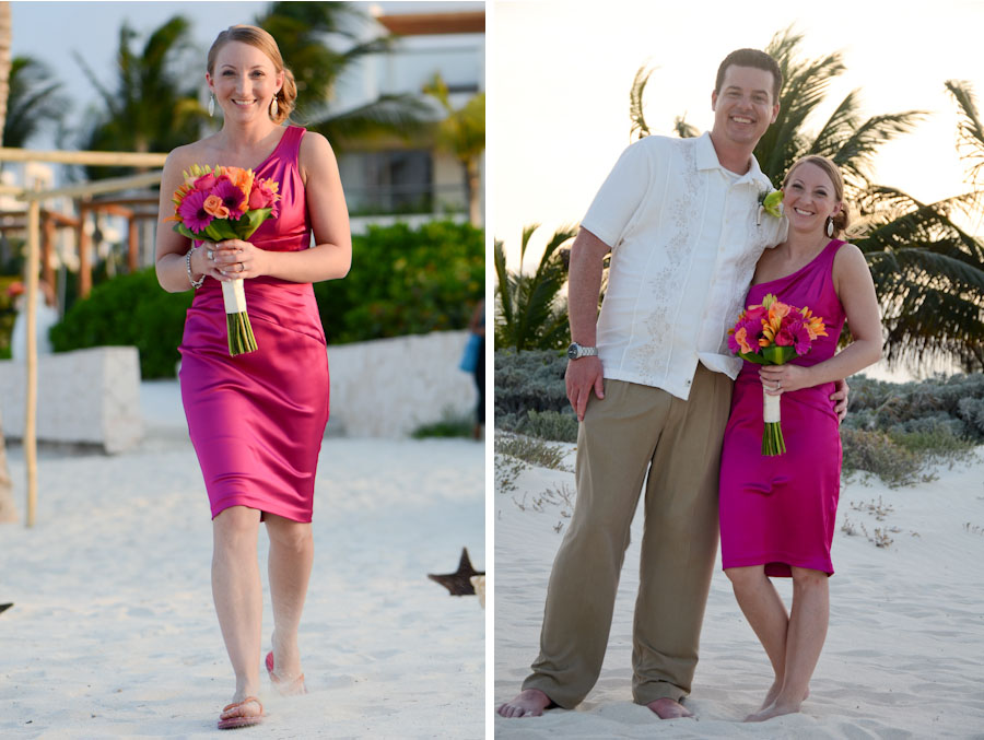 Excellence small destination wedding photographer, Photos In Cancun