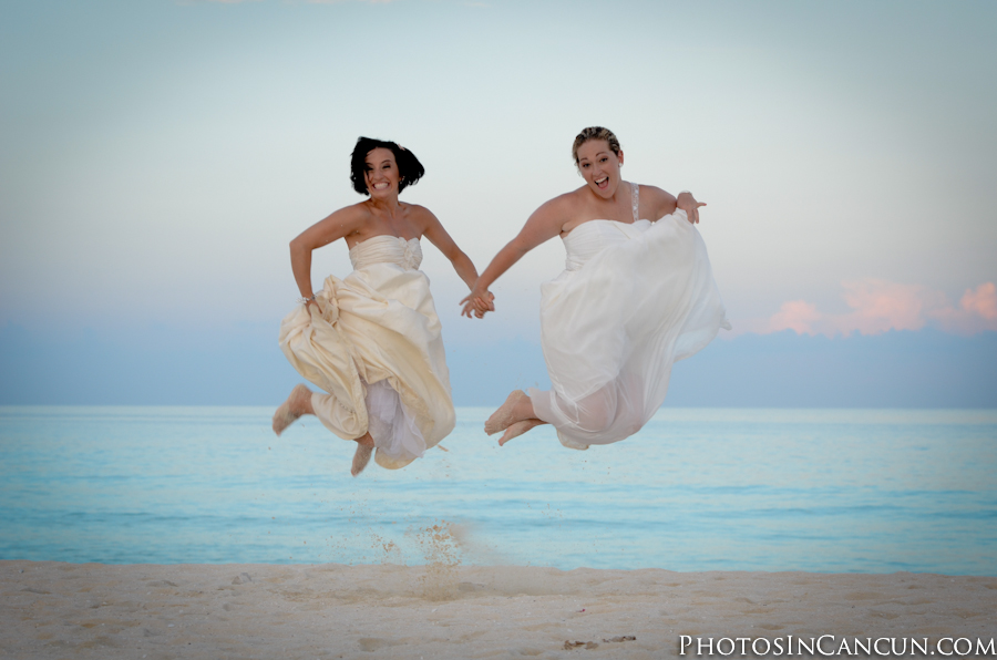 photos in cancun gay friendly wedding mexico