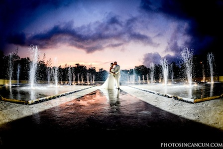 wedding at valentin imperial maya photographer