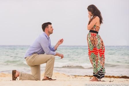 Surprise Proposal in Playa del Carmen Mexico thumbnail