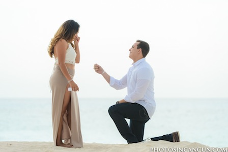Surprise Proposal in Cancun