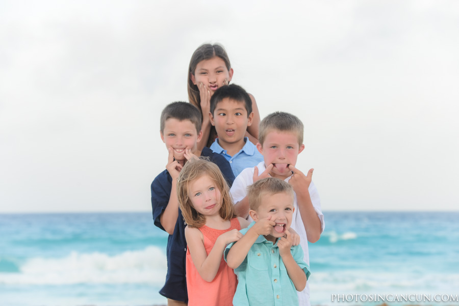 Cancun Family Vacation Hotel Memory Photography Session