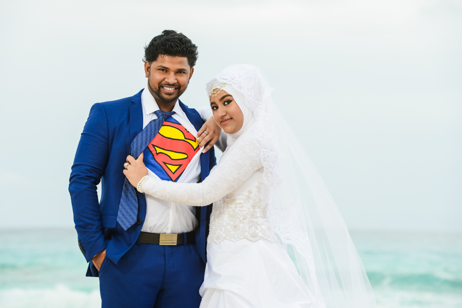 Muslim Wedding After Session Photos in Cancun