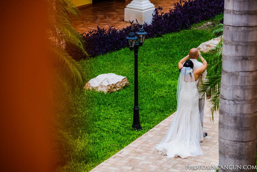 Ocean Coral and Turquesa Puerto Morelos Wedding Photography