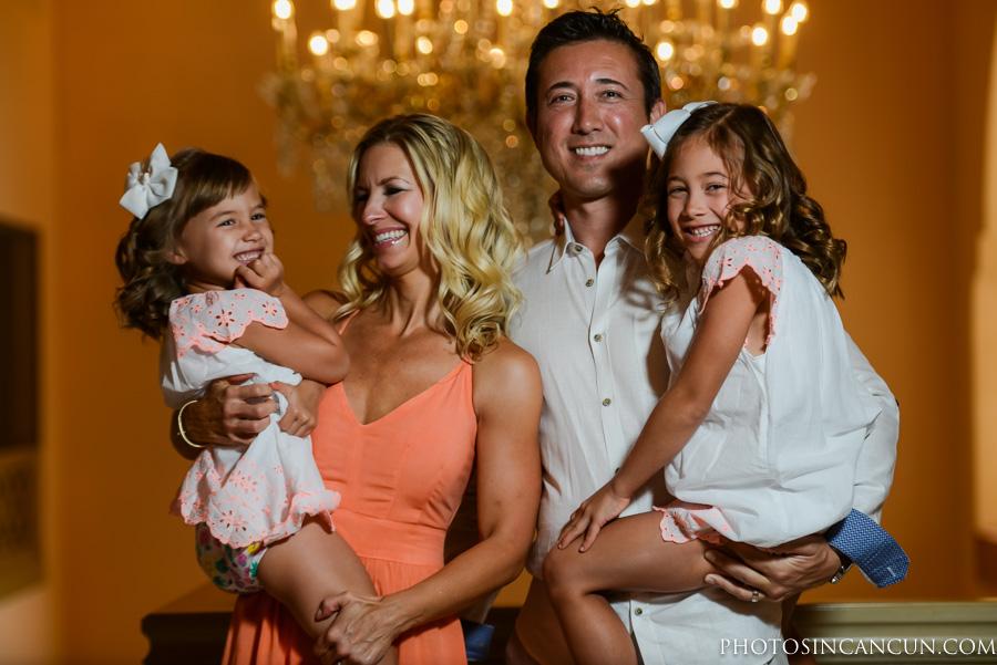 Ritz Carlton Cancun Family and Couple Photographer
