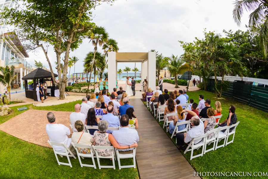 Garden Wedding at the Azul Fives in Playa Del Carmen