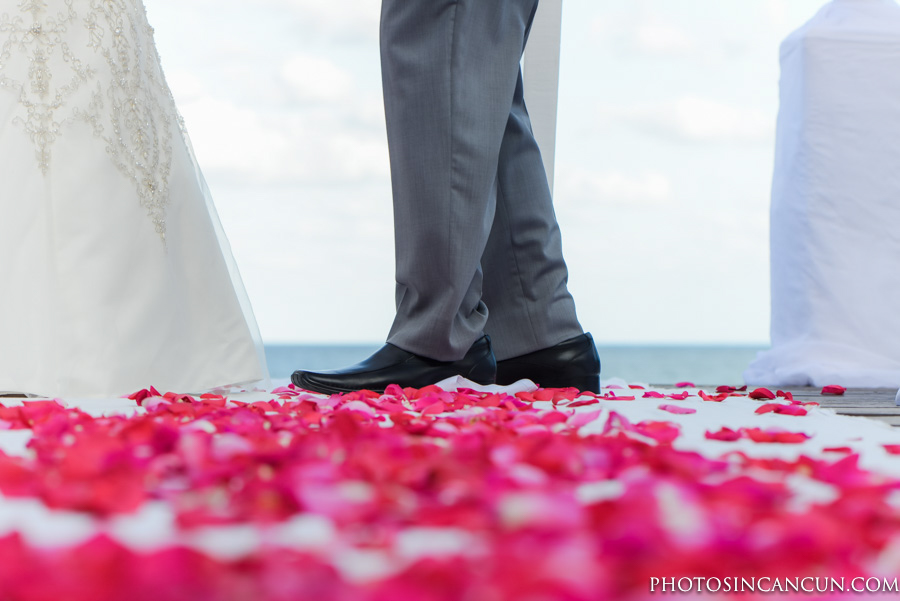 Canadian Bride Wedding in Mexico at Now Sapphire Resort