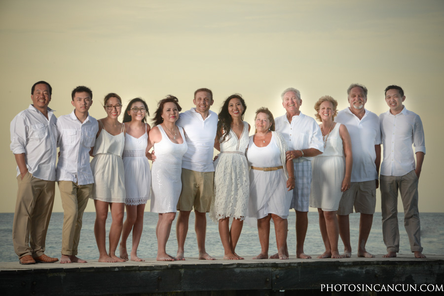 Cancun Fun Family Photographers Riu Resorts