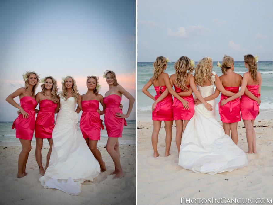 Photos In Cancun Grand Sunset Princess Wedding Photographers
