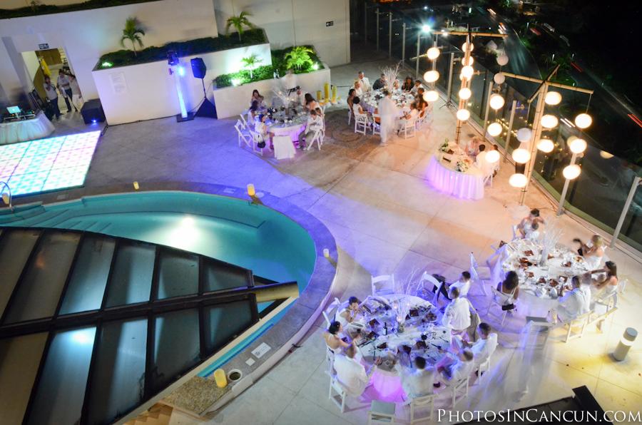 Wedding Reception Beach Palace Cancun Photos Favors Details Photography