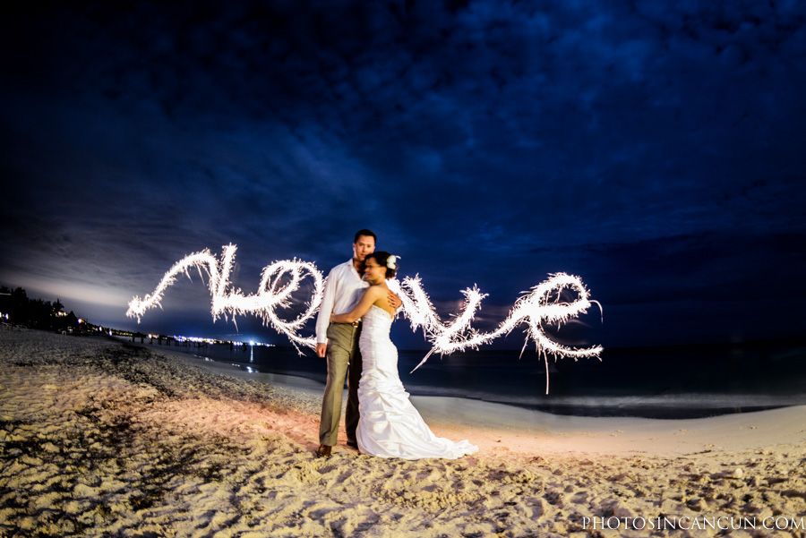 Excellence Riviera Cancun Photographer and Trash The Dress