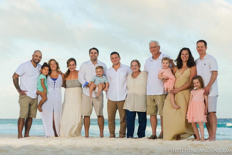 Cancun Family Photography Hotel Zone Cancun Mexico