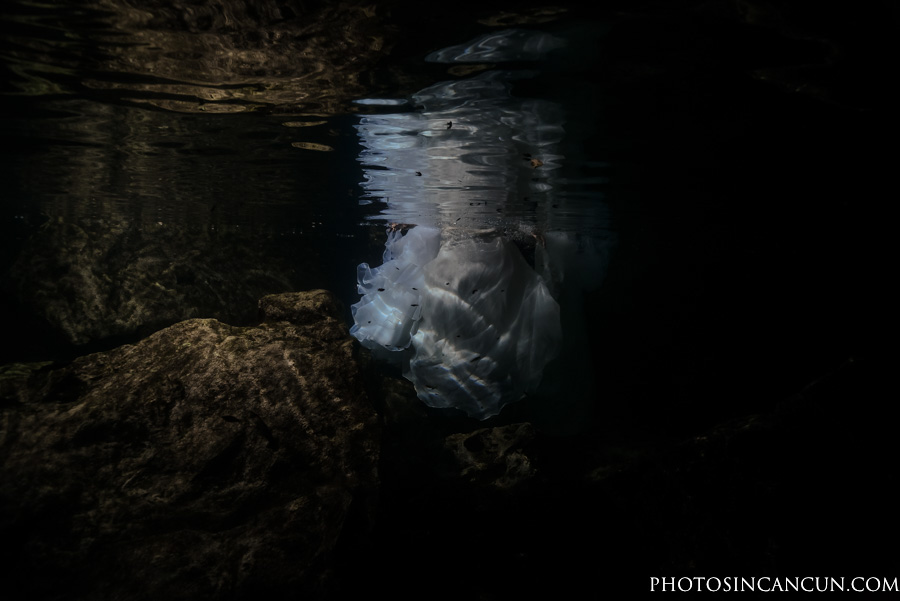 Two Brides and Two Dresses – Trash The Dress Cenote