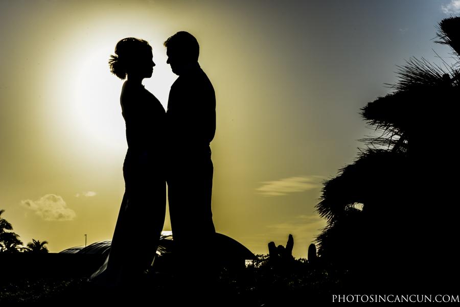Riu Palace Cancun Beach Wedding Photos