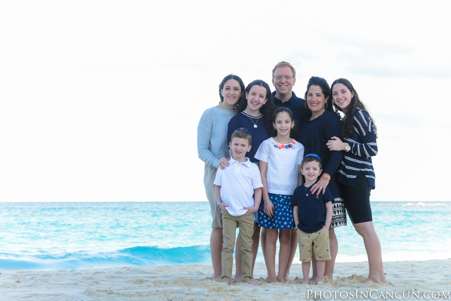 Cancun Westin Hotels Family Photo Sessions