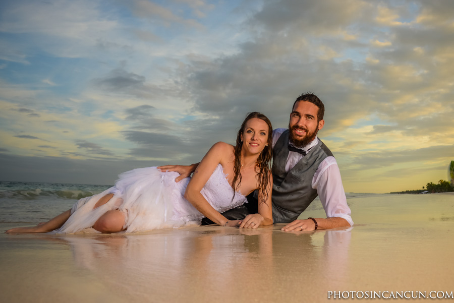 Ana Y Jose Tulum Wedding Formal Photography