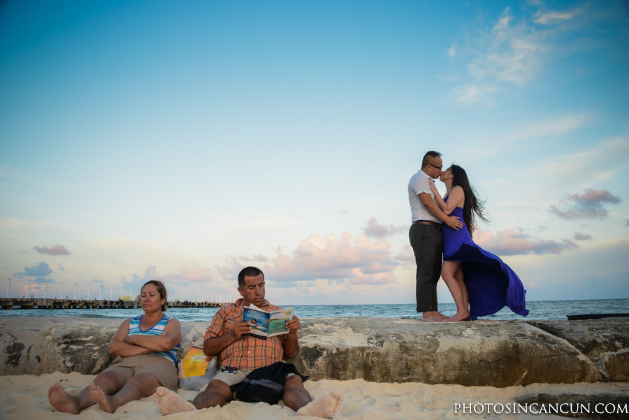 Friendly Beach Photographer in Playa del Carmen