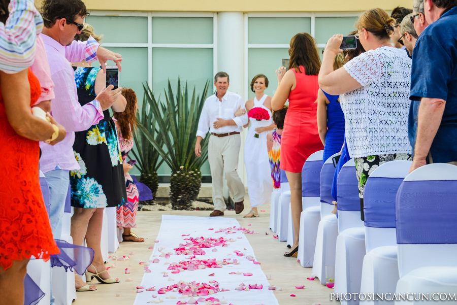 Now Jade Wedding Ceremony by Photos in Cancun